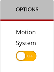 Motion System Options menu