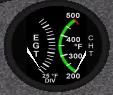 Exhaust Gauge Temperature & Cylinder Head Temperature