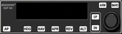 Autopilot (modeled after KAP140)