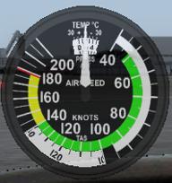 Backup Airspeed Indicator
