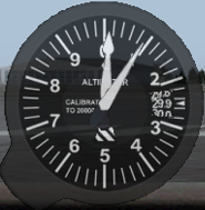 Backup Altimeter